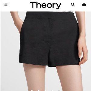 Theory Mini Dress Shorts